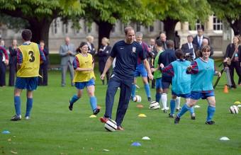 Buckingham Palace football