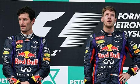 Mark Webber Sebastian Vettel Red Bull