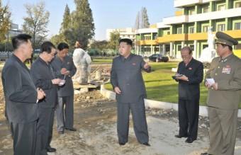 N. Korean leader visits children's hospital