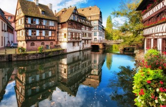The medieval houses of Strasbourg