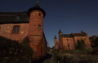 The red-hued village of Collonges-la-Rouge