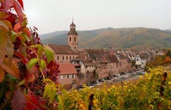 The village of Riquewihr, Alsace