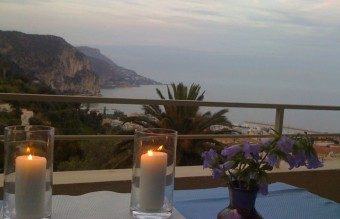 Delicious Dinner and Views at Lanie Goodman's in Beaulieu-sur-Mer