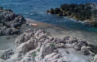 Sunbather du jour near Saint-Jean-Cap-Ferrat