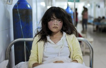 China - Minxian Earthquake Victim