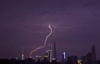 China - Shanghai Storm