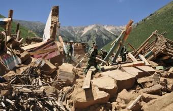China - Tibet Landslide