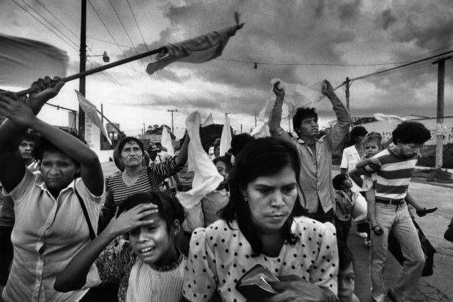 Резултат с изображение за гражданска война в Салвадор