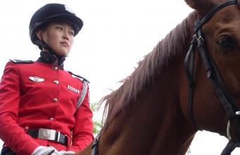 Dalian Female Mounted Police
