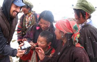 Tim Carter in Tibet