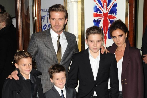 Victoria+Beckham+David+Beckham+and+family+arriving+at+the+World+Premiere+of+Viva+Forever