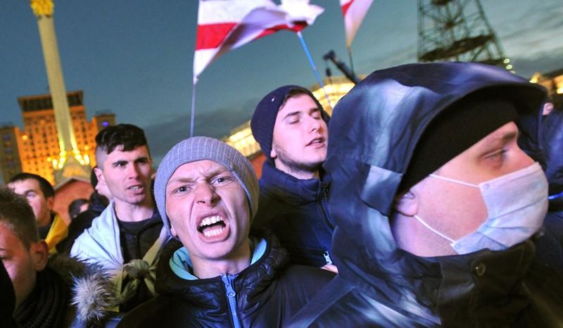 Pro-EU protest in Ukraine
