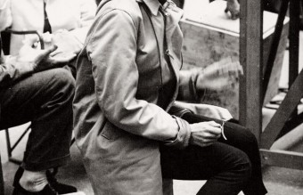 Audrey Hepburn , the set of Funny Face, 1956