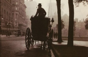 CENTRAL PARK, NEW YORK, C. 1900, by Robert Flynn Johnson