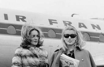Françoise Dorléac , Catherine Deneuve, 1960
