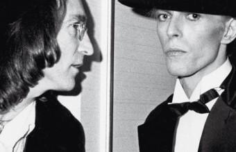 John Lennon ,David Bowie