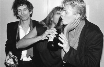 Keith Richards, Tina Turner, David Bowie - Bob Gruen, 1983