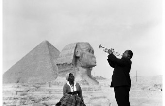 Louis and Lucille Armstrong Egypt 1961
