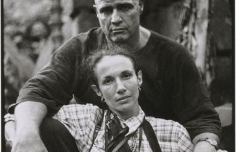 "Mary Ellen Mark Self-portrait with Marlon Brando on the Set of ""Apocalypse Now"" 1979"