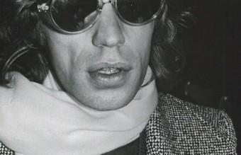 Mick Jagger at Max's Kansas City, 1972