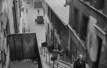 Steps to Montmartre, Paris 1947