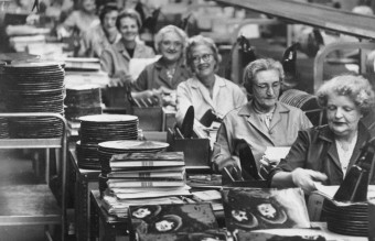 "The Making of ""Rubber Soul"" vinyls ,1965"
