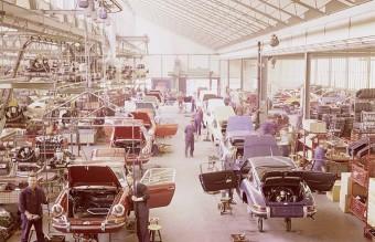 porsche factory , 70s
