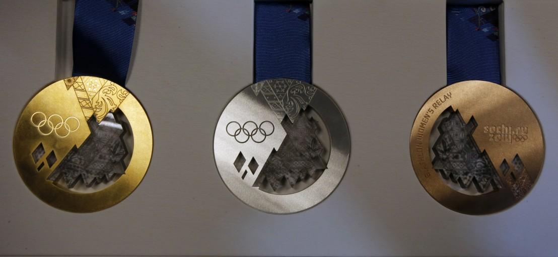 Russia Sochi Medals