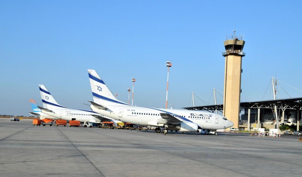 El-Al-planes-at-the-Ben-Gurion-Airport-photo-credit-Shay-LeviFlash90