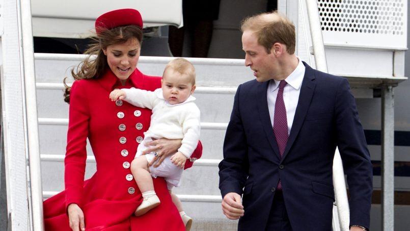 Prince William, Princess Catherine, Prince George