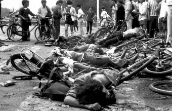 June 4, 1989 - Bodies of Dead Civilians (AP)