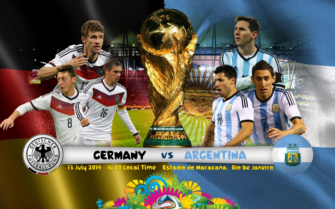 Germany-vs-Argentina-2014-World-Cup-Final-In-Brazil-Wallpaper