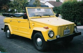 VW Thing. Volkswagen Things are awesome.