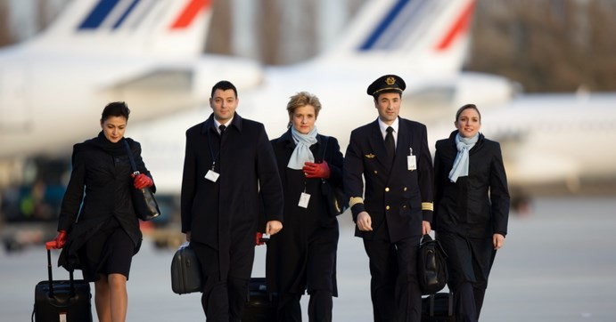 air france stewards
