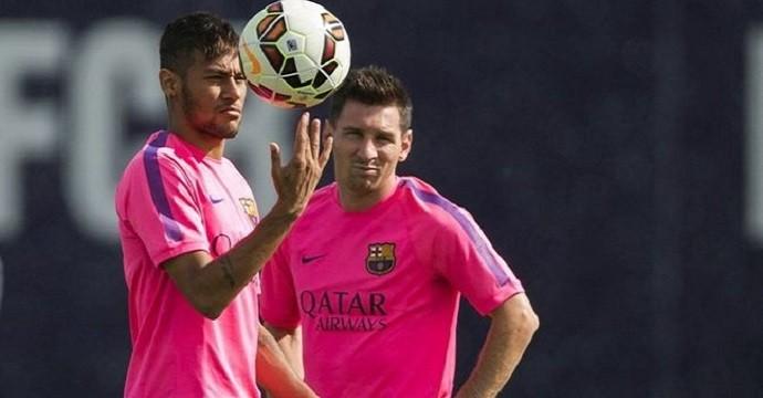 Neymar-Messi