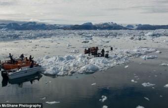 The Defiled-floating iceberg1