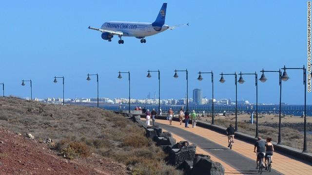 Lanzarote Airport (Canary Islands, Spain)