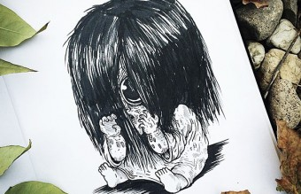 baby-terrors-iconic-horror-monsters-illustrations-alex-solis-26