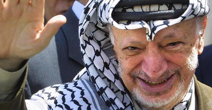 Резултат с изображение за Ясер Арафат