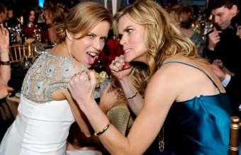 Missi Pyle and Kim Dickens