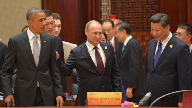 Xi-Jinping-Vladimir Putin-Obama