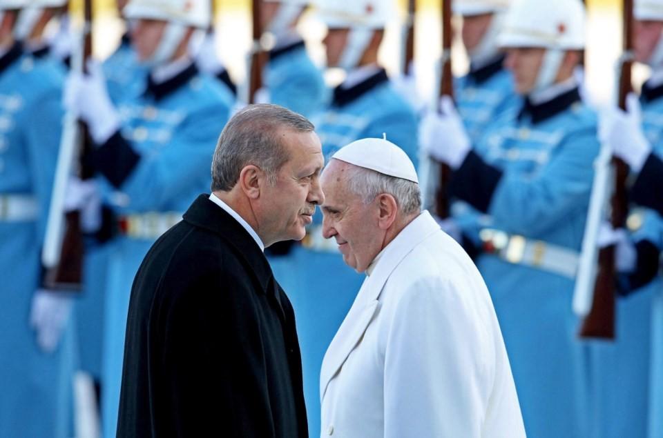 erdogan papa francisco