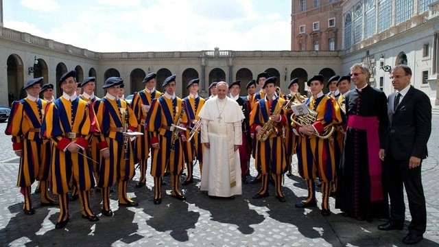 Pope Francis on St George's Day