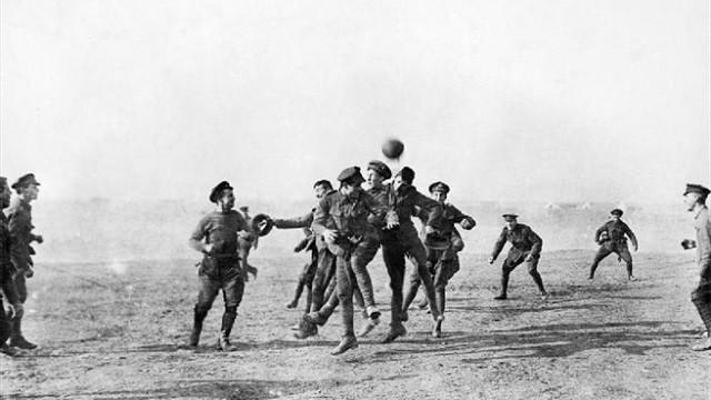 UEFA marks 100th anniversary of World War One truce
