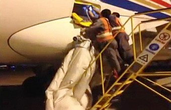 VID: Patient Keen To get Home Deploys Emergency Chute