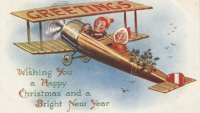 1_Collection of WW1 Christmas cards_front