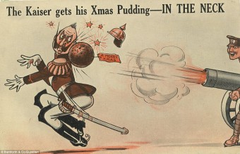 Collection of WW1 Christmas cards 04
