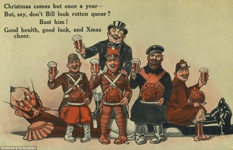 Collection of WW1 Christmas cards 05