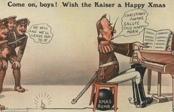 Collection of WW1 Christmas cards 19