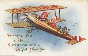 Collection of WW1 Christmas cards 20